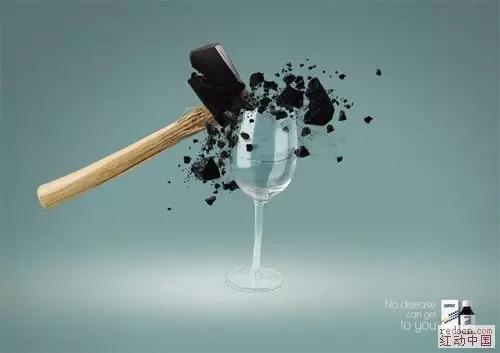 品牌广告设计中的创意手法三(借代,夸张)