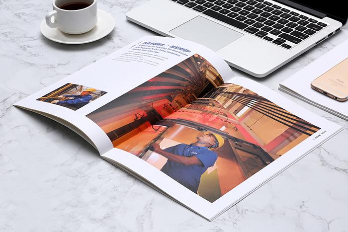 西奥电梯画册设计